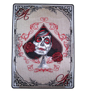 aces of spades sugar skull girl