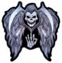 Grim reaper with wings