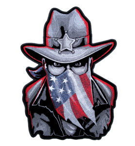 Patriotic Western Sheriff patch