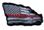 red thin line patch