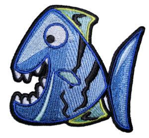happy fish patch