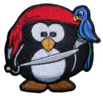 pirate penguin patch