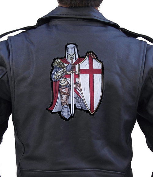 christian crusader knight