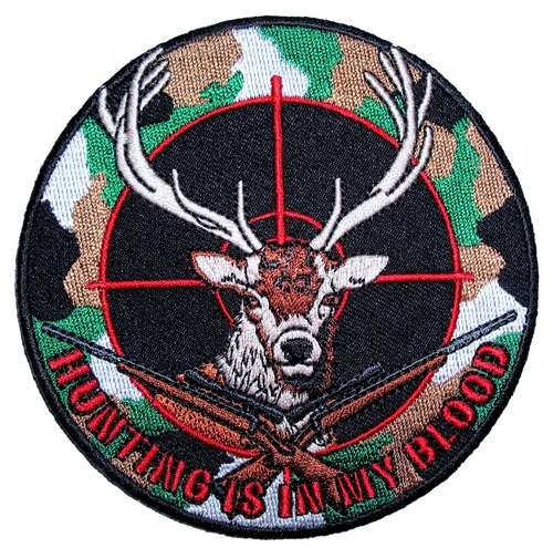 camouflage deer hunting patch