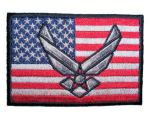 patriotic air force patch
