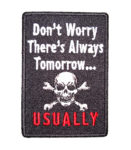 skull and crossbones sayings patch