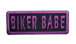 Ladies biker babe patch