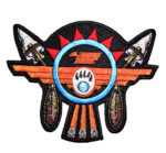 Thunderbird and arrows patch