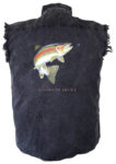 rainbow trout biker shirt