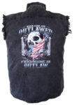 outlaw denim biker shirt