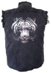 tiger cutoff biker shirt