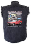since 64 ford mustang classics sleeveless biker shirt