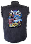 route 66 sleeveless biker shirt