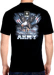 patriotic United States Army shirt