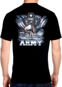 patriotic United States Army shirt