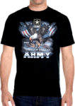 united states army patriotic bald eagle tee shirt