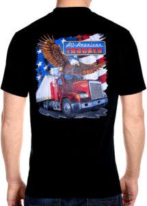 trucker tee shirt