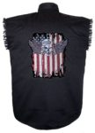 american fighter pilot sleeveless biker shirt