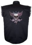 death before dishonor sleeveless biker shirt