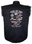 support out troop sleeveless biker shirt