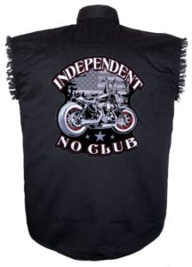 no club sleeveless biker shirt
