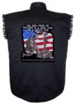 freedom sleeveless biker shirt