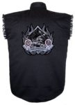 independent motorcycle sleeveless biker shirt