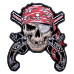 Pirates, Skulls Patches