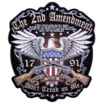 Large Biker Patches