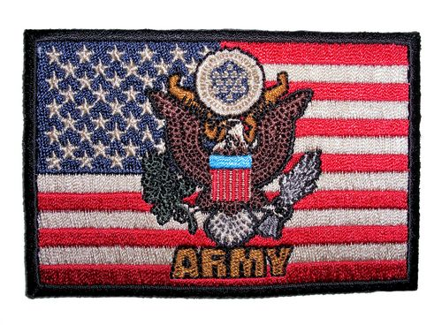 army logo flag patch