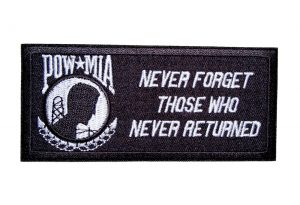 pow mia never forget those who never returned patch