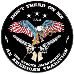 Don't tread on me an american tradition clock