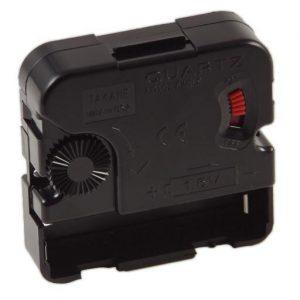 Battery operated biker patch clock