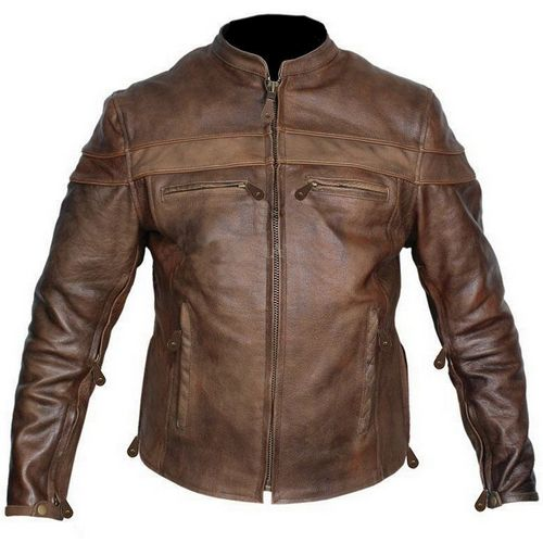 brown collection leather jacket