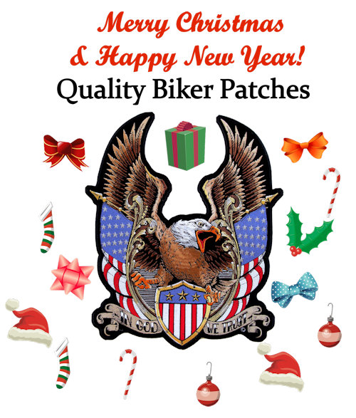 Merry Christmas from Quality Biker Patches