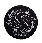 Pisces biker patch