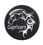 Capricorn biker patch
