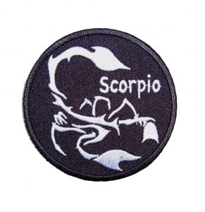 Scorpio biker patch