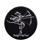 Sagittarius biker patch