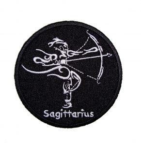 Sagittarius biker patch