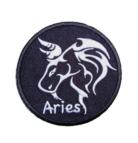Aries biker patch