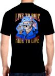 live to ride skeleton