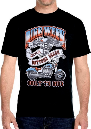 2018 daytona beach bike week t-shirt