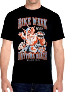 2018 daytona beach bike week wild hog tee