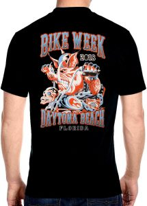 2018 Daytona beach bike week wild hog t-shirt