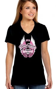 2018 Daytona Beach bike week wings t-shirt