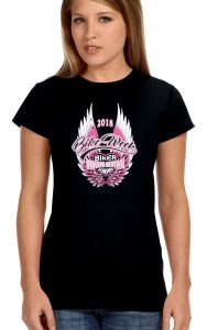 2018 daytona beach bike week angel wings t-shirt