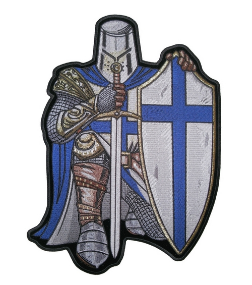 Templar Knight Christian Crusader patches