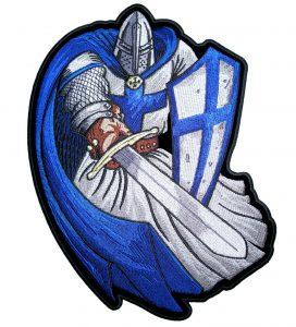 Christian Crusader patch